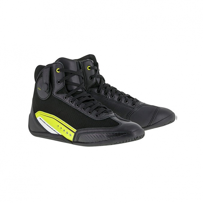 알파인스타즈 AST-1 SHOES BLACK/YELLOW