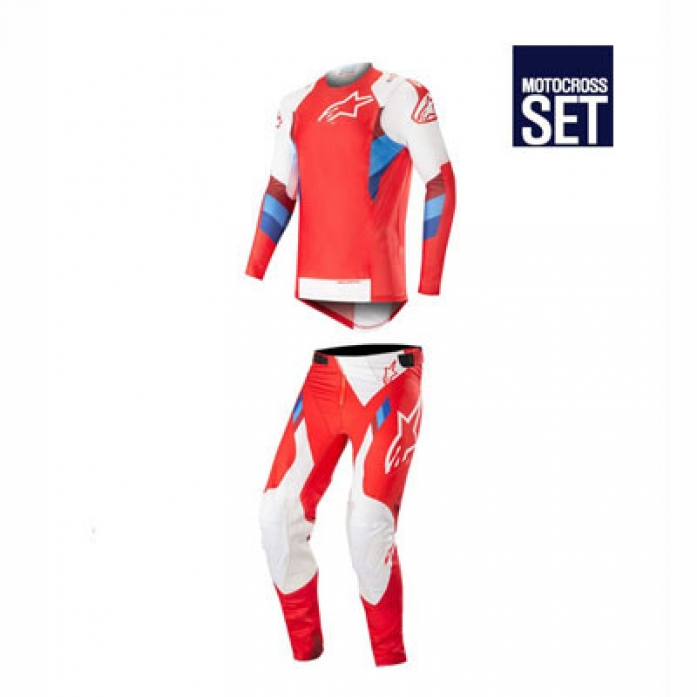 알파인스타즈 SUPERTECH SET RED/WHT