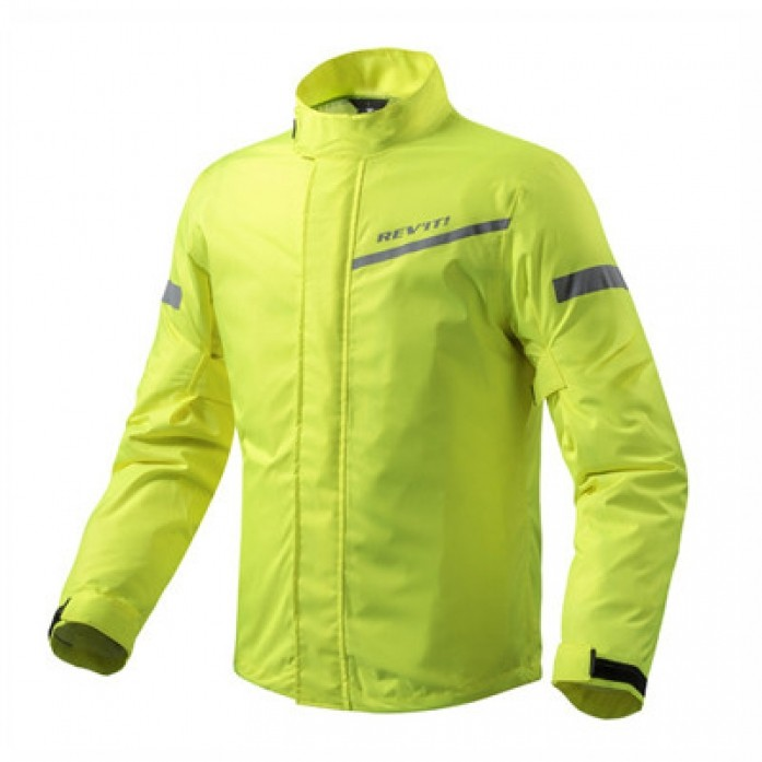 레빗 REV'IT CYCLONE2 H20 RAIN JACKET NEON