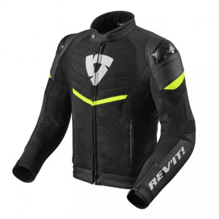 레빗 REV'IT MANTIS JACKET BLK/NEON-YELL