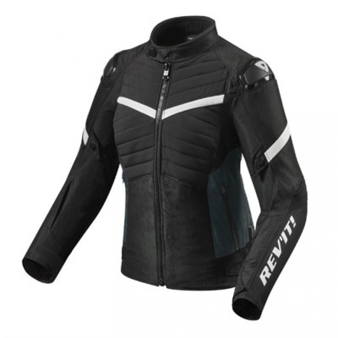 레빗 REV'IT ARC H20 LADIES JACKET BLK/WHT