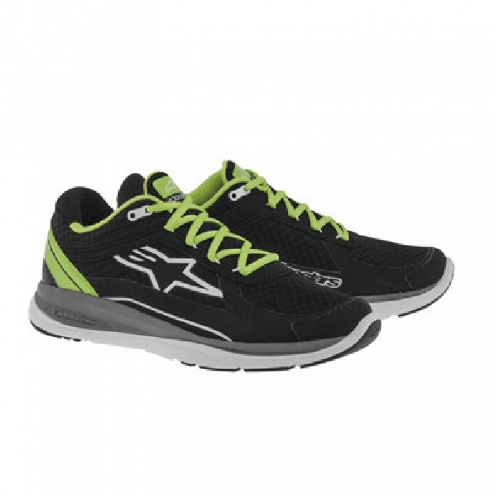 알파인스타즈 100 RUNNING SHOE BLK/GREEN