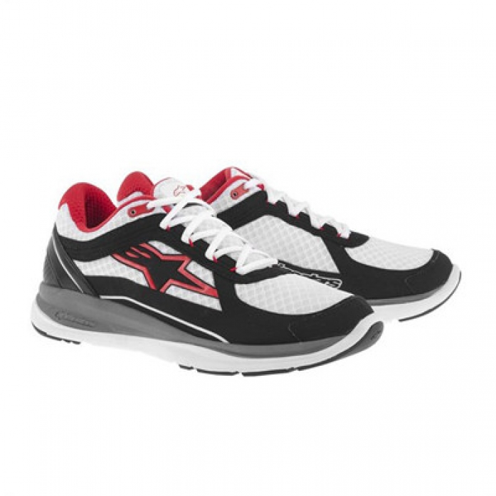 알파인스타즈 100 RUNNING SHOE WHT/BLK/RED
