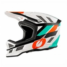 O'Neal 2019 Blade Fullface Helmet WHITE-ORANGE(오닐 블레이드 풀페이스 헬멧)
