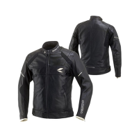 RSJ705 브롱스 레더 올 시즌 자켓 (RSJ705 BRONX LEATHER ALL SEASON JACKET BLACK/WH)